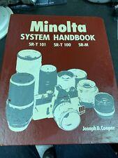 Minolta SRT 100/101 System Handbook