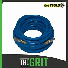 """KC Tools 3/8"""" x 15m Heavy Duty PVC Air Hose with Coupling"""