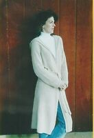 "Neck Down Long Hooded Cardigan Knitting Pure & Simple Pattern #225 XS-XL 36""-52"""