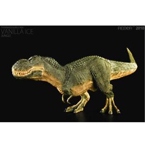 "Rebor 1:35 Scale ""Tyrannosaurus rex Vanilla Ice"" JUNGLE BNIB (box damage)"