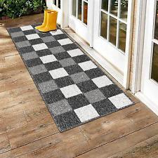 Indoor Front Door Mat Long Rug Runners Carpet Floor Mats for Entryway Kitchen