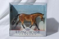 Peter Stone Pebbles Collection '05 Living Horse Bay Warmblood Signed With Box