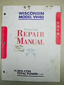 Wisconsin Vh4d Gas Engine 1300 Hours For Sale Online Ebay