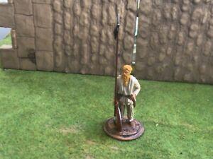 Lombard Medieval infantry Warrior. Friulmodellismo 54 mm metal soldier