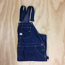 Vintage Sweet Orr Overalls Men's 48 Blue Denim Button Fly Sanforized Union Made