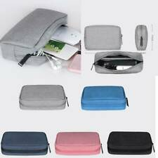 Travel Electronic Accessories Organizer Bag Cable USB Charger Storage Case Bag L