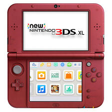 Nintendo New 3DS XL - Red Handheld System
