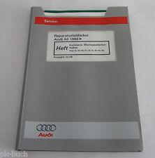 Werkstatthandbuch Audi A6 / A 6 C5 Karosserie Außen Montagearbeiten ab 1998