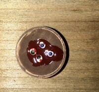 Wooden Bowl Of Eyeballs Halloween Dollhouse Miniature Witch Butcher Doctor O85
