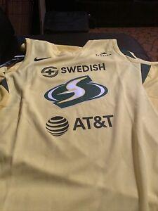 WNBA - Breanna Stewart - Seattle Storm - XL - New - On Court Jersey