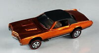 Restored Hot Wheels Redline - 1968 - Custom Eldorado - Orange