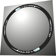 VISION METRON 40 CELESTE COLOR REPLACEMENT RIM DECAL SET FOR 2 RIMS