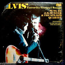 ELVIS PRESLEY-J. D. SUMNER-ELVIS' FAVORITE GOSPEL SONGS-QCA 362 ST-1977-MISPRINT