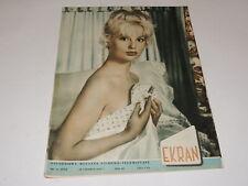 Ekran 26/1959 polish magazine Mylene Demongeot, Sonia Ziemann, Michele Morgan