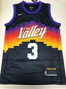 2021 Phoenix Suns #3 Chirs Paul Jersey The Valley Shirt City Edition Size S-2XL