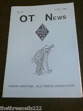 AMATEUR RADIO - RAOTA - OT NEWS #13 - APRIL 1989