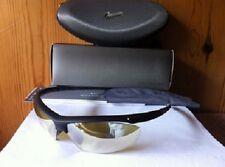 NOUVEAU Nike siège Lunettes de soleil noir mat Cadre / hi-vis jaune