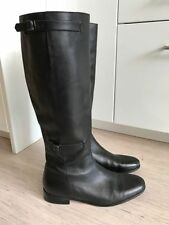 Country Road Knee High Boots Leather Shoes for Women