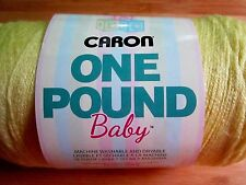 Caron Baby One Pound Yarn   YELLOW  - 16 OZ