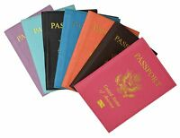 Travel Leather Passport Organizer Holder Card Case Protector Cover Wallet GW