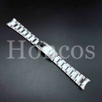 20MM Submariner Watch Band Bracelet Polish Brust Silver Fits For Rolex Oyster