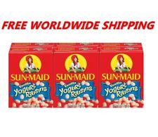 Sun-Maid Vanilla Yogurt Raisins One Pack (6 Ct) WORLDWIDE SHIPPING