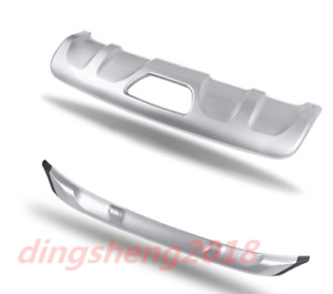stainless steel Bumper Fit Front Rear Board Guard For Nissan Murano 2015-2019