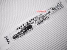 6 x Uni-Ball Jetstream SXR-10 1.0mm Ballpoint Pen Refills for SXN-210, Black
