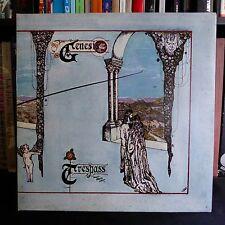 GENESIS Trespass CHARISMA UK Press LP EX Lyric Insert