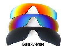 Galaxy Replacement Lenses for Oakley Batwolf Black&Blue&Red Polarized 3PAIRS