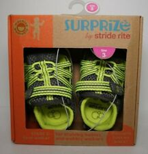 NEW Surprize by Stride Rite Toddler Boys Stage 2 Size 3 Sandals Shoes