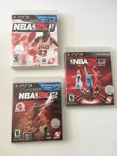PS3 Games Lot Bundle ,NBA2k13, NBA2K12,NBA2K11, Battlefield 3 complete