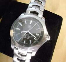 TAG HEUER GENTS WRIST WATCH MODEL NUMBER WJF 5112 LINK CHRONOMETER AUTOMATIC