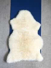 Bowron Authentic Champagne Longwool Lambskin Rug