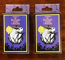Disney Nightmare Before Christmas 2008 Mystery 10 Pin Collection 2 EMPTY BOXES