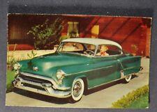 1952 Oldsmobile 98 Holiday Coupe Postcard Brochure Excellent Original 52