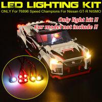 LED Light Beleuchtung Kit Für LEGO 76896 Speed Champions Für Nissan GT-R NISMO