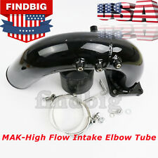 For 03-07 Dodge Ram 5.9L Cummins Diesel High Flow Intake Elbow Tube Black USA