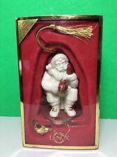 Lenox Fishing Santa Ornament Ice Fishing Santa Claus
