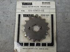 Yamaha YZ125 DT125 MX175 TY250 YA6 YAS1 AS2C CT1 HT1 CS5 AT1 Sprocket Drive 15T