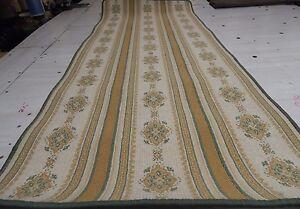 Runner Rug Wool Blend Woven Carpet CHOICE SIZE.