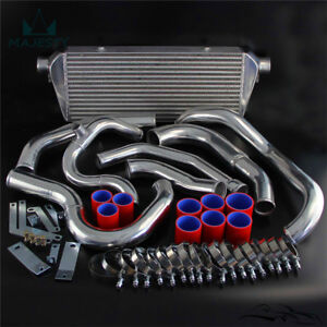 Front Mount Turbo Tuning Intercooler Kit Fits Subaru WRX Impreza GDA GDB 00-05