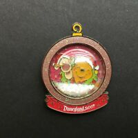DLR - Holiday Snowglobe - Winnie the Pooh and Tigger LE 1000 Disney Pin 58576