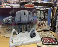 Star Wars ESB Hoth Ice Planet Adventure Set Vintage 1980 W/Box