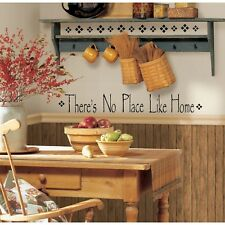 NO PLACE LIKE HOME WaLL Stickers Vinyl Decal Quote Room Decor Decals Decorations