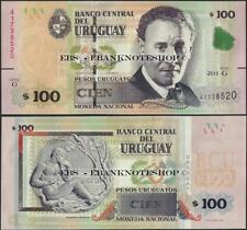 Uruguay,Pnl,2015/2018,100 Pesos,Hors-Circulation,Nouveau Design - Ebanknoteshop