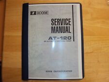 Icom antenna tuner automatic At-120 service manual copy