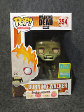 Funko Pop The Walking Dead Burning Walker 2016 SDCC Exclusive 354