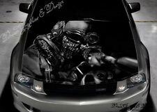 Sniper Soldier Full Color Graphics Adhesive Vinyl Sticker Fit any Car Bonnet 293