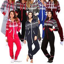4be2f57b1a10 New Ladies All In ONE AZTEC Onesie Hooded ZIP UP Jumpsuit Playsuit Not  Gerber UK